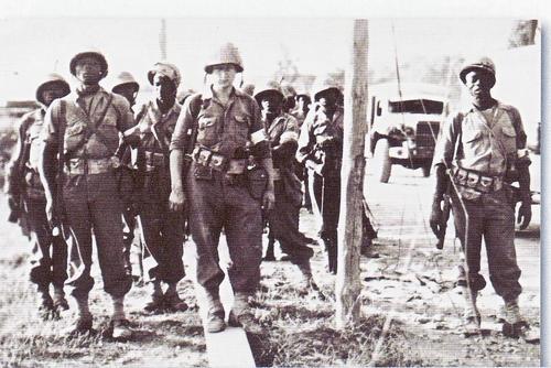 Armée Française de libération 1943-1945  : Petit guide uniformologique  Tirailleursdu4eRTSenProvence1944